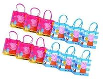 "Peppa Pig Party Favor Goodie Gift Bag - 6"" Small Size"