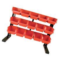 Performance Tool W5186 15-Bin Table Top Storage Rack