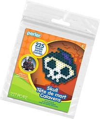 Perler Beads Scary Skull Activity Kit with Pegboard , 80-