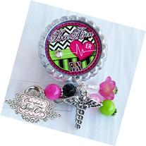 Personalized Badge Reel for Nurses-Nurse Badge Reel