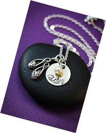 Personalized Ballet Necklace - DII - Recital Rehearsal