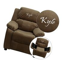 Flash Furniture Personalized Deluxe Heavily Padded Brown