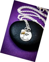 Personalized Graduation Necklace - DII - Graduate Gift -