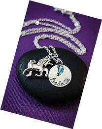 Personalized Unicorn Necklace - DII - Little Girls Gift -