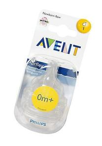 Philips Avent Airflex Silicone Nipple Newborn Flow Baby