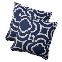 Pillow Perfect Indoor/Outdoor Carmody Corded Throw Pillow,