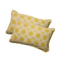 Pillow Perfect Indoor/Outdoor Rossmere Corded Rectangular