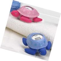 Pink Turtle Safety Bathtub Bath Tub Thermometer Baby
