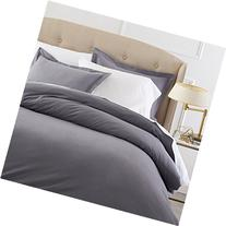 Pinzon 190 Gram Heavyweight Velvet Flannel Duvet Set - Full/