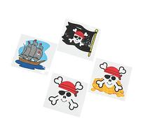 Pirate Tattoos Favors 36 per package