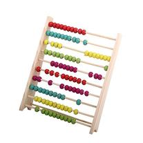 Pixnor Classic Wooden Abacus Educational Toy for Kids