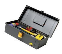 Plano Molding 100 15-Inch Tool Box, Graphite Gray with Iron