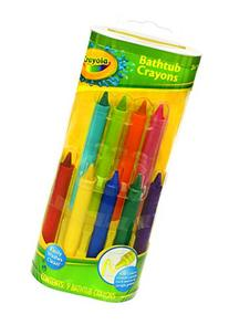 Crayola Bathtub Crayons, Assorted Colors 9 ea