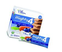Plum Organics Mighty Snack Bars, Organic Toddler Snack,