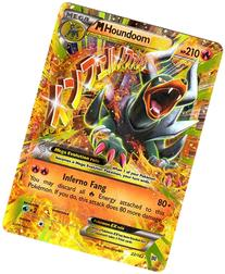 Pokemon - Mega-Houndoom-EX  - XY BREAKthrough - Holo