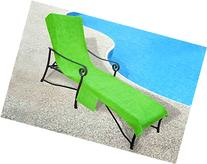 Pool Side 1000-Gram Chaise Cover, Pool lounge Chair Cover
