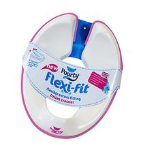 International Limited Flexi-fit Toilet Trainer, White/Pink