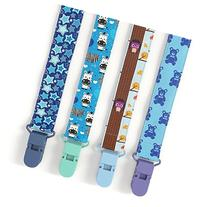 Premium Quality Baby Pacifier Clip  for Boys and Girls! .