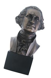 President George Washington Bust Statue Sculpture