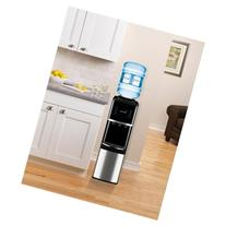Primo Top-Load Water Cooler, Stainless Steel/Black