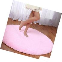 Princess Dream Round Shaggy Area Rugs and Carpet Super Soft