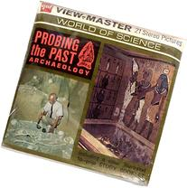 Probing the Past Archaeology 3d View-Master 3 Reel Packet