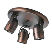 Progress Lighting P6153-174WB 3-Light Pinhole Back