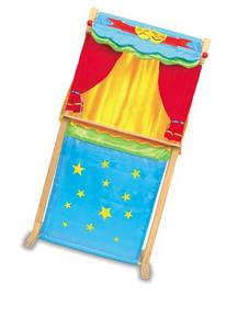 Puppet Theatre - Standing Or Table Top - Switch From