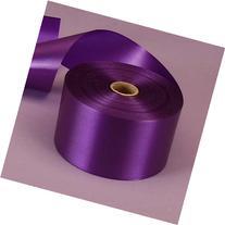 "Purple Embossed Poly Satin Ribbon, 2-3/4"" X 100 Yards"