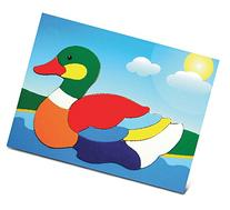 Puzzled Duck Wooden Toys Fun Puzzle