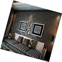 QIHANG Modern Luxury Abstract Curve 3d Wallpaper Roll Mural