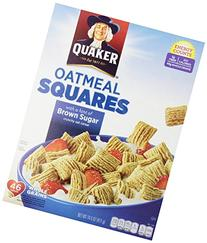 Quaker Oatmeal Squares Brown Sugar 14.5-Ounce Box