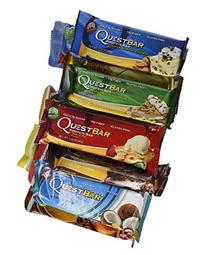 Quest Bars High Protein Gluten Free, Original Variety Pack,