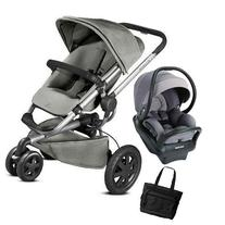 Quinny - Buzz Xtra MAX Travel System with Bag - Gravel Grey