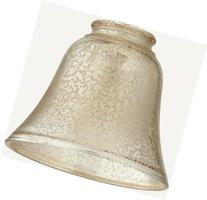 Quorum 2847, Bell-Shaped Silver Mercury Glass