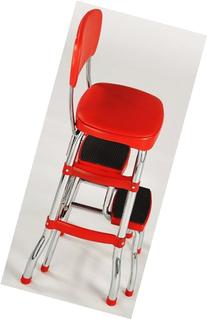RED Step Stool Brings Retro Charm To Homes. Grandma Would