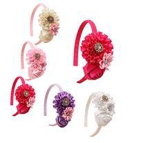 ROEWELL® Hair Ribbon Bow Hair Clip Headbands for Baby&Girl