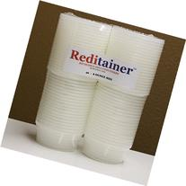 Reditainer 8 oz. Deli Food Containers w/Lids - Pack of 40 -