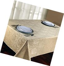 Regal Home Collections Laura Rose Damask Oblong  Tablecloth