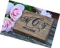 Ring Bearer Box - Wedding Ring Bearer Pillow Alternative -
