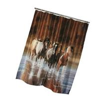 Rivers Edge Products V Shultz Horse Shower Curtain