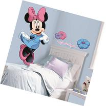 Roommates Rmk1509Gm Minnie Mouse Peel And Stick Giant Wall