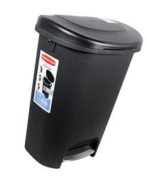 Rubbermaid Step-On Wastebasket Trash Can, 13-Gallon, Metal-