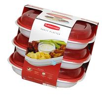 Rubbermaid Party Platter 3 Pack
