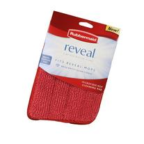 """Rubbermaid - Reveal Mop Microfiber Cleaning Pad, Red, 15"""""""
