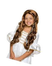 Rubies Glamorous Brunette Princess Child Wig