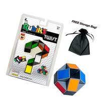 Rubik's Twist Puzzle Cube with Free Storage Bag