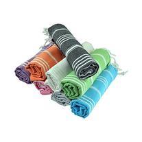 Turkish Cotton Hand Face Head Guest Gym Towel Set Peshtemal