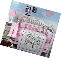 SOHO Cherry Blossom Crib Nursery Bedding Set Including