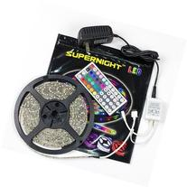 SUPERNIGHT  5M/16.4 Ft SMD 3528 RGB 300 LED Color Changing